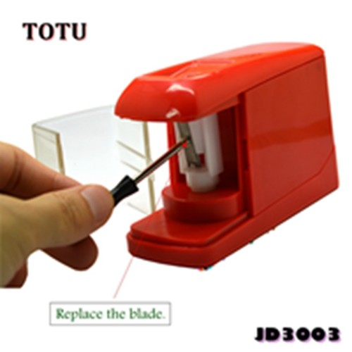 China Factory Art Wholesale 1 Hole 6-8mm Battery Operated Pencil Sharpener