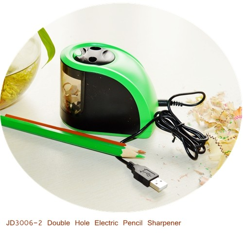 Two-hole Automatic Electric Pencil Sharpener