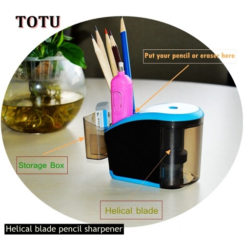 Christmas gifts New Design Stationery Helical Blade Pencil Sharpener