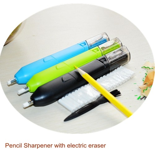Art Stationery Gifts Pencil Sharpener with electric eraser